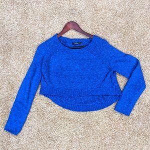 LF Royal Blue Cropped Sweater